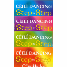 Complete 4 DVD Set Ceili Dancing Step By Step Olive Hurley