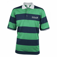 Croker Harp Green And Navy Polo Shirt