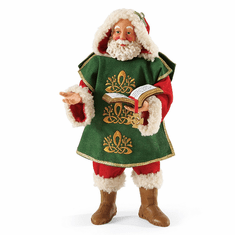 Department 56 Possible Dreams Christmas Santa's Until We Meet Again Figurine