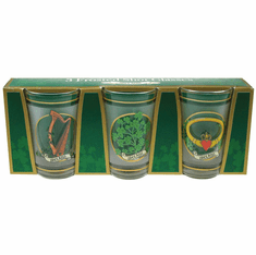 Frosted 3 Pack Shot Glass