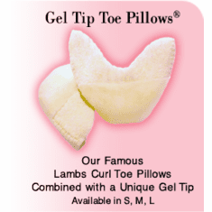 Gel Tip Toe Pillows