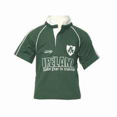 Green Baby Rugby Shirt