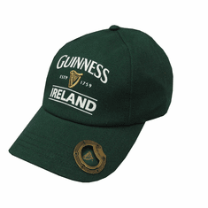 Green Guinness Cap with Bottle Opener