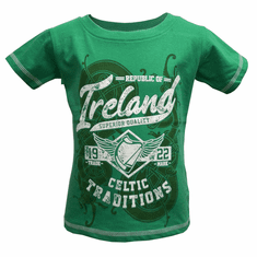 Green Ireland Celtic Traditions Kids T-Shirt