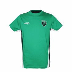Emerald Green Ireland T-Shirt with Shamrock Crest