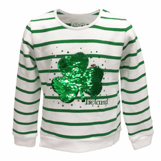 Green Shamrock Long Sleeve Shirt