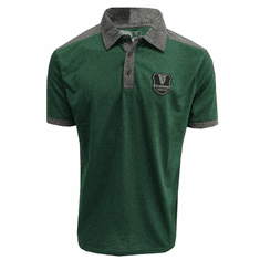 Guinness Grey and Green Short Sleeve Performance Rugby Jersey