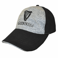 Guinness Black/Grey Performance Baseball Cap