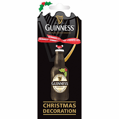 Guinness Bottle Christmas Decoration