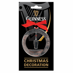 Guinness Christmas Pint Fabric Decoration