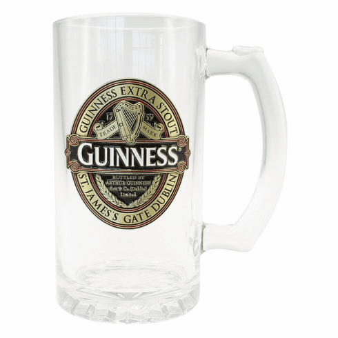 Guinness Color Filled Tankard