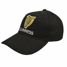Guinness Black Traditional Baseball Cap