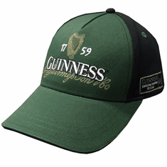 Bottle Green/Black Guinness Irish Label Baseball Cap