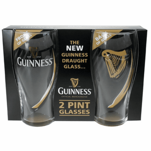 Official Guinness Gravity Glass (2 Pack)