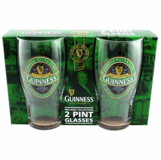 Guinness Ireland Pint Glass 2pk