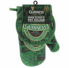 Guinness Ireland Pot Holder & Oven Glove