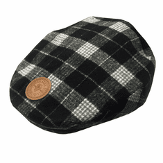 Guinness Grey Plaid Flat Cap