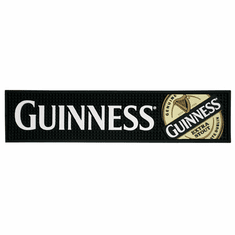 Guinness Label PVC Bar Mat