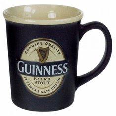 Guinness Large Label Embossed Mug