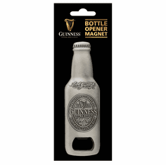 Guinness Metal Bottle Opener Magnet