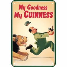 Guinness Metal Sign - My Goodness My Guinness