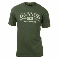Guinness Olive 1759 Crest Tee Shirt