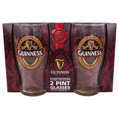 Guinness Pint Glass 2pk