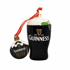 Guinness Pint Glass Christmas Decoration