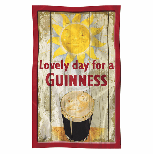 Guinness Pint Tea Towel