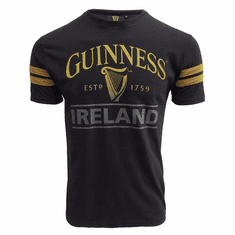 Guinness Black Deep Tan Tape T-Shirt