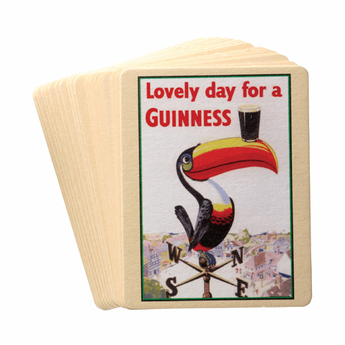 Guinness Set of 20 Assorted Coasters