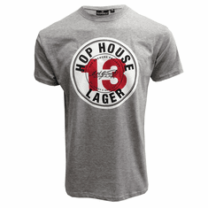 Guinness Short Sleeve Grey Hop House Tee-Shirt