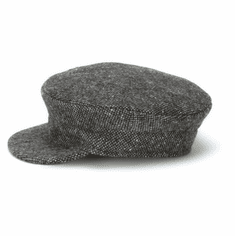 Hanna Hats Skipper Cap Grey Salt and Pepper