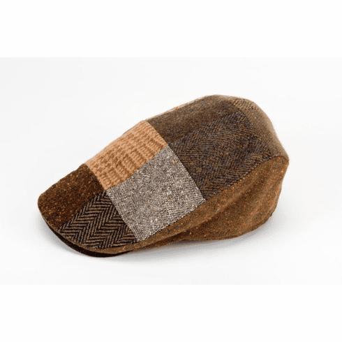 Hannah Hats Brown Donegal Touring Cap