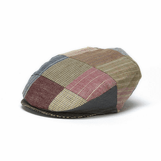 Hannah Hats Linen Vintage Patch Toning Cap