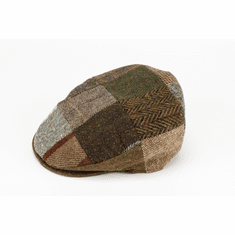 Hannah Hats Vintage Cap - Brown Patch