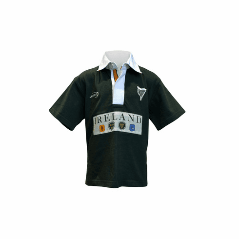Ireland 4 Province Short Sleeve Kids Rugby Top