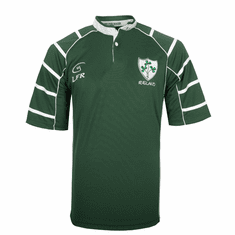 Ireland Breathable Irish Rugby Shirt Dark Green
