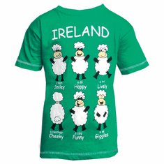Ireland Happy Sheep T Shirt
