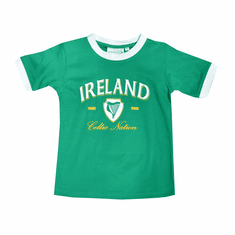 Ireland Kids Ringer T-Shirt