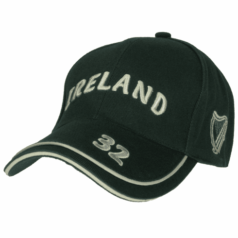 Ireland Luxury Baseball Cap