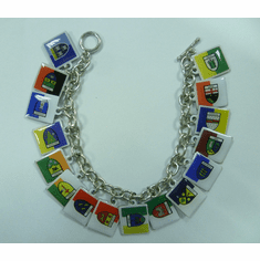 Irish 32 County Flag Toggle Bracelet