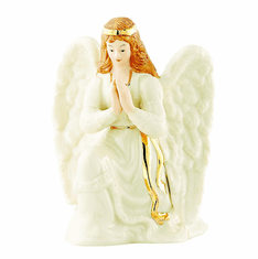 Irish Angel Figurine White Dress