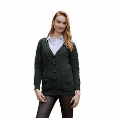 Irish Aran Knit Boyfriend Sweater