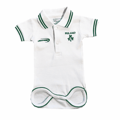 Irish Baby Polo Vest