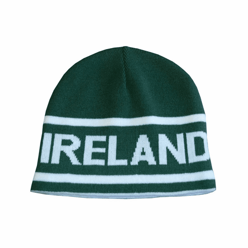 Irish Bottle Green Reversible Knit Hat