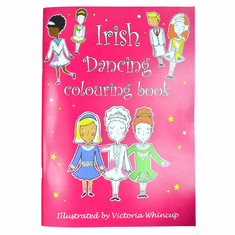 Irish Dance Coloring Book