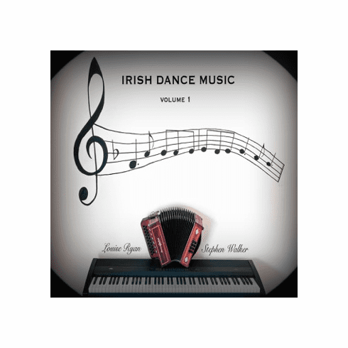 Irish Dance Music 1 CD  Stephan Walker and Louise Ryan