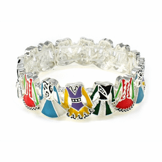 Irish Dancing Dress Stretch Bracelet