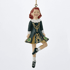 Irish Dancing Girl 6 inches. Kurt S. Adler